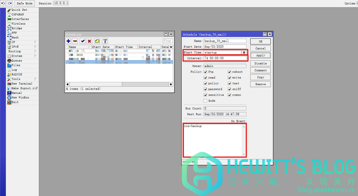RouterOS(ROS)定时备份配置并发送至邮箱脚本插图15